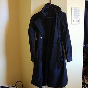 Theory trench rain coat with belt